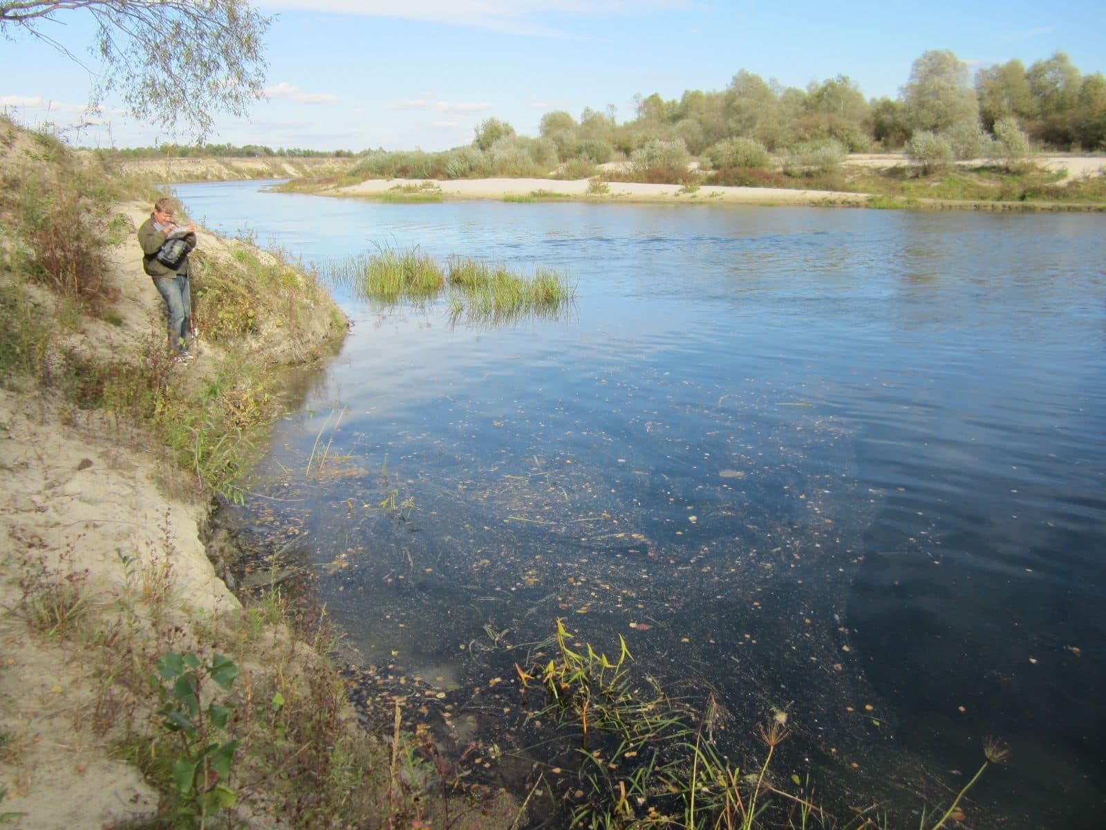 Река на фото