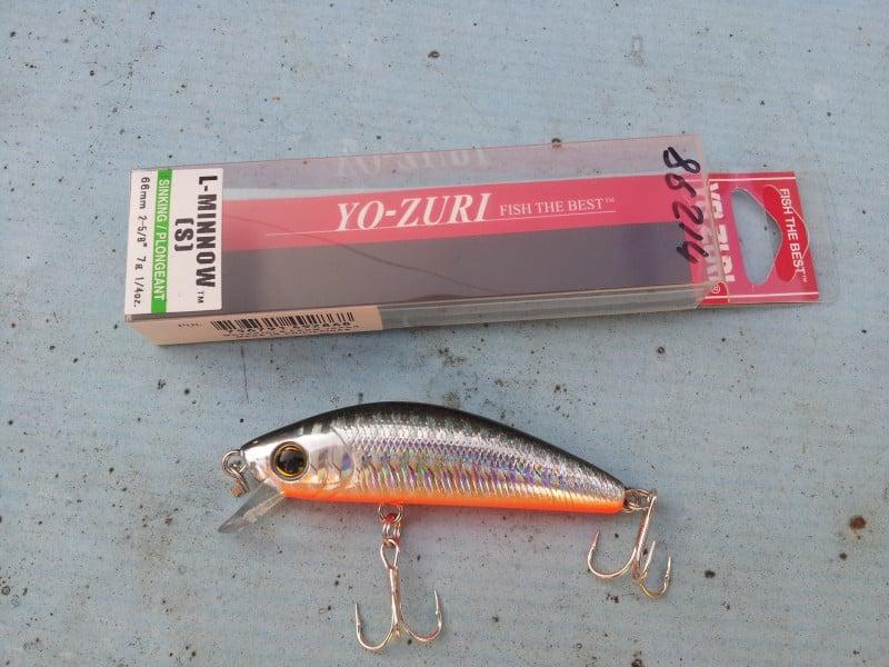 YO-ZURI L Minnow 66