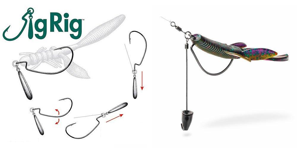 Оснастка Токио риг: особенности монтажа и способы ловли окуня, судака, щуки