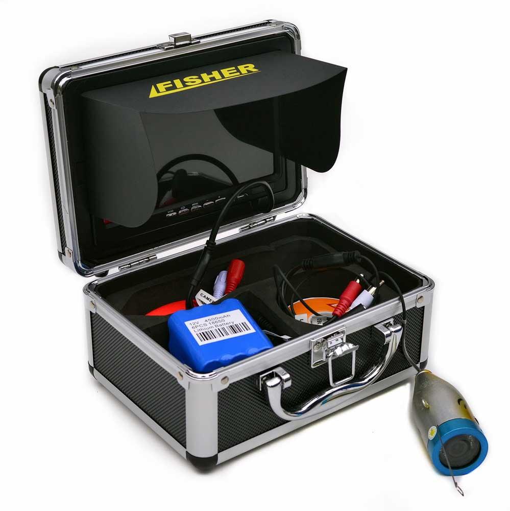 Подводные камеры для зимней рыбалки