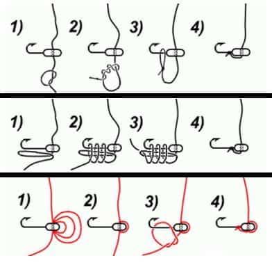 Как правильно привязать мормышку с ушком и без на зимнюю удочку