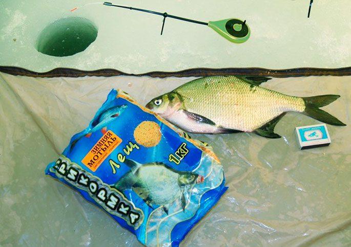 Зимние прикормки для хищной и белой рыбы своими руками