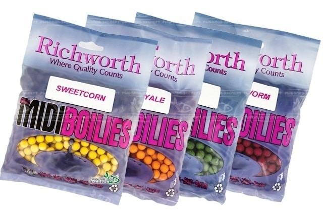 Бойлы Richworth и другая продукция: актуальный обзор рынка