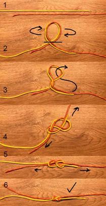 Как вяжется рыбацкий узел восьмерка и встречная восьмерка: фото инструкция