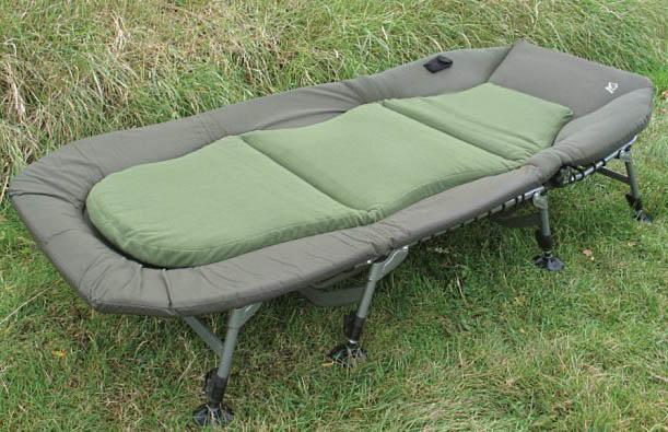 Как выбрать карповую кровать раскладушку, на что обратить внимание при покупке?