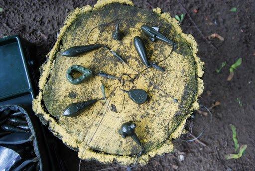 Как выбрать карповые грузила для течения, ила и других рыболовных ситуаций