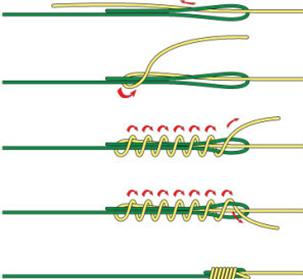 Как надежно вязать узел олбрайт, как выглядит правильный albright knot