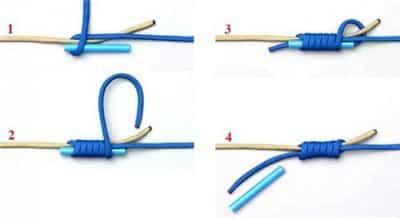 Как привязать поводок к леске и плетенке напрямую и под прямым узлом