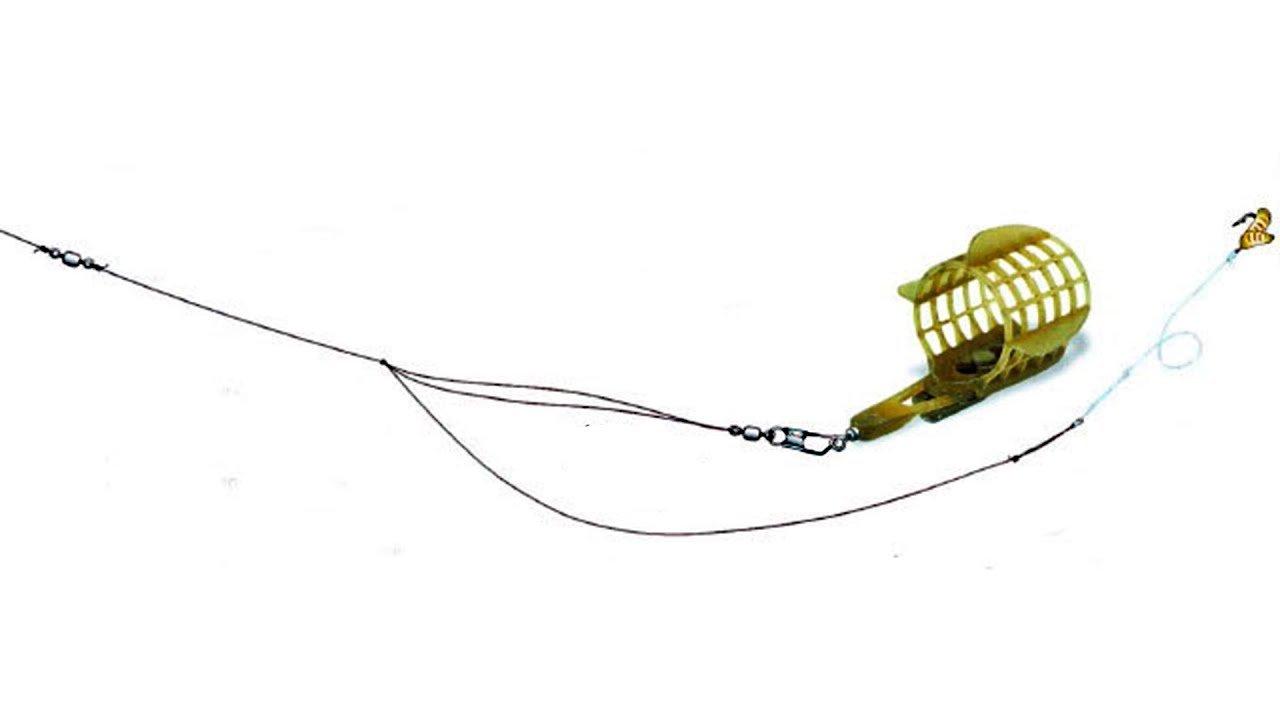 Фидерные оснастки для стоячей воды: монтаж, кормушки, ловля
