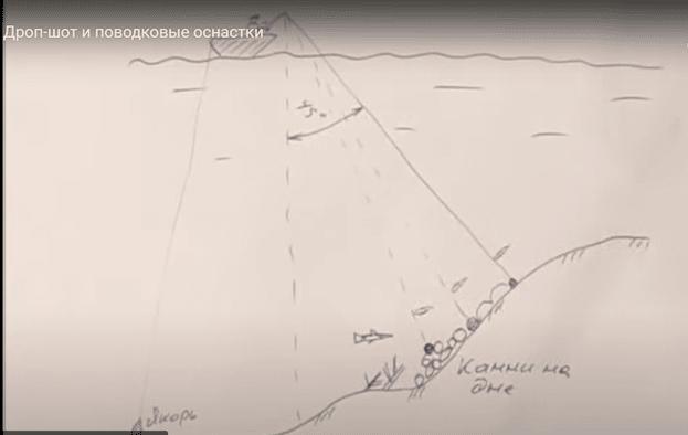 Ловля судака на дроп-шот: оснастка, монтаж с фото, подача и проводка