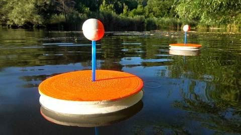 Ловля на кружки осенью: оснастка, установка на озере и реке