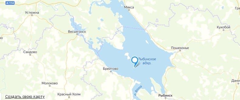 Рыбалка на рыбинском водохранилище: карта, снасти, новости с рыбинки