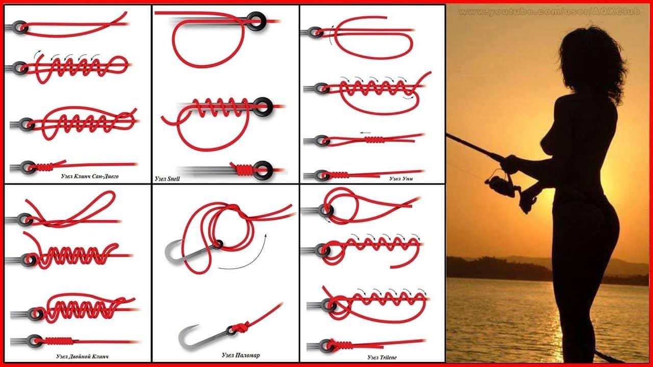 Как вязать узел клинч обычный, двойной, усиленный: фото инструкция