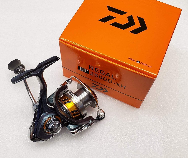 Daiwa Regal 18 LT 2500D: обзор, технические характеристики, отзывы