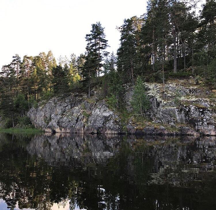 Рыбалка осенью в Карелии - куда поехать дикарем, календарь клева