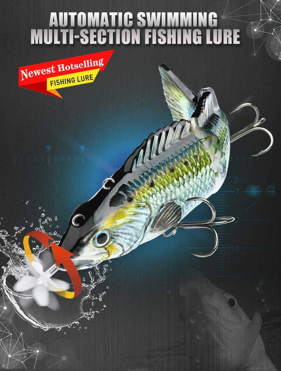 Роботизированные плавающие приманки Fishing Robotic Swimming Lure Wobblers