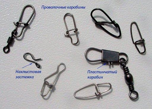 Как надежно привязать карабин к леске, шнуру, флюрокарбону